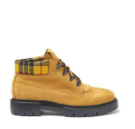 Amtrac mustard crust leather boots
