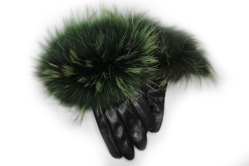 Veronique Huge Cuff - Forest Green
