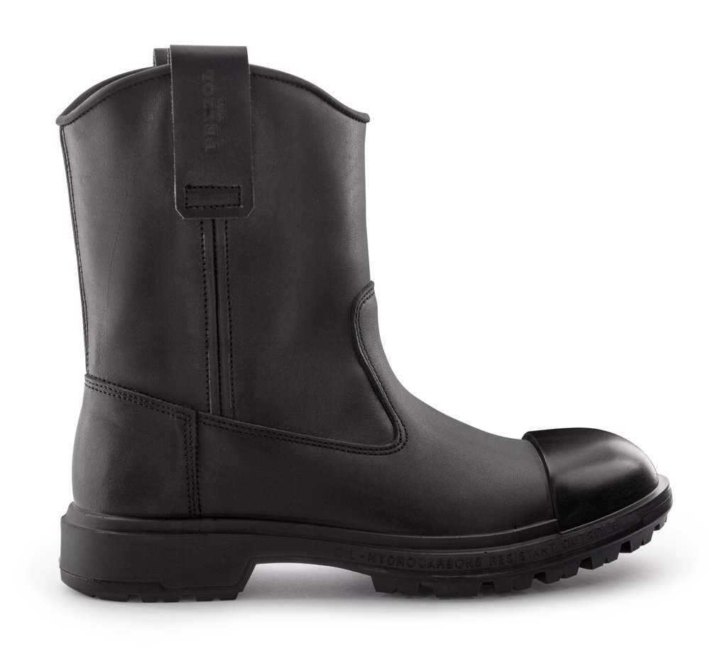 SCUD® KING`S CUT - RIGGER BOOT RUBBER - Nero