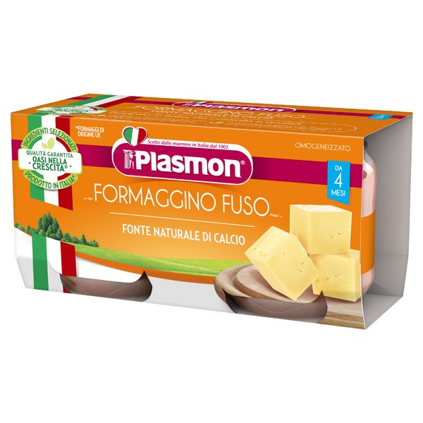 Plasmon Formaggino Fuso Omogeneizzato 2 x 80 g