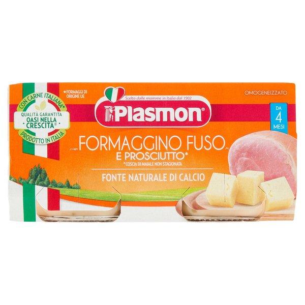 Plasmon Formaggino Fuso e Prosciutto* Omogeneizzato 2 x 80 g