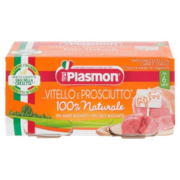 Plasmon Omogeneizzato con Carne e Cereale 2 x 80 g