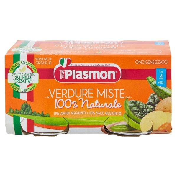 Plasmon Omogeneizzato Verdure Miste 2 x 80 g