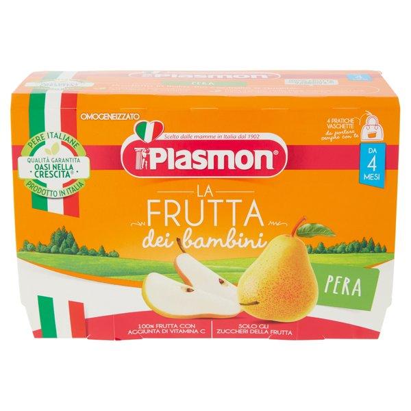 Plasmon la Frutta dei bambini Pera Omogeneizzato 4 x 100 g