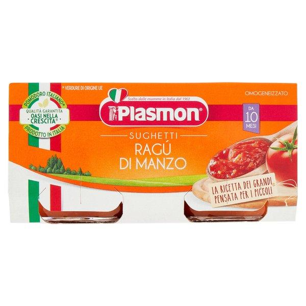 Plasmon Sughetti Ragù di Manzo 2 x 80 g