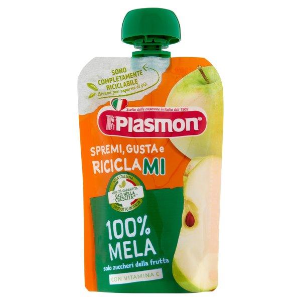 Plasmon Spremi Gusta e Riciclami 100% Mela 100 g