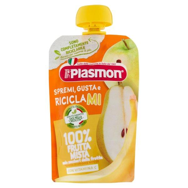 Plasmon Spremi Gusta e Riciclami 100% Frutta Mista 100 g