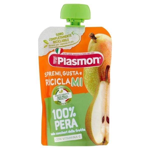 Plasmon Spremi Gusta e Riciclami 100% Pera 100 g