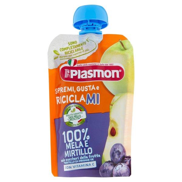 Plasmon Spremi e Gusta 100% Mela e Mirtillo 100 g