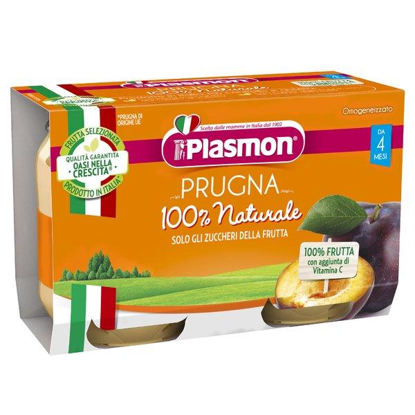 Plasmon Prugna Omogeneizzato 2 x 104 g