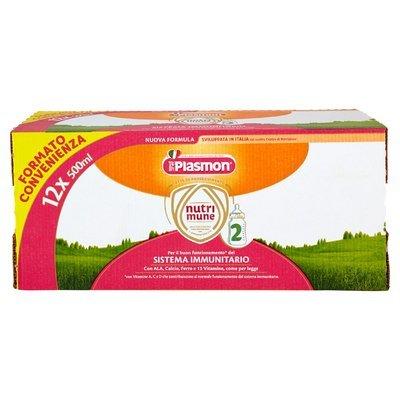 Plasmon nutrimune 2 Latte di Proseguimento 12 x 500 ml
