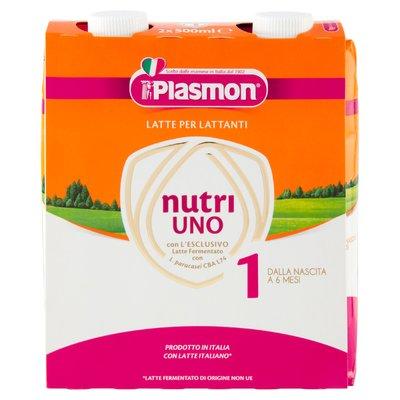 Plasmon Latte per Lattanti nutri Uno 1 2 x 500 ml