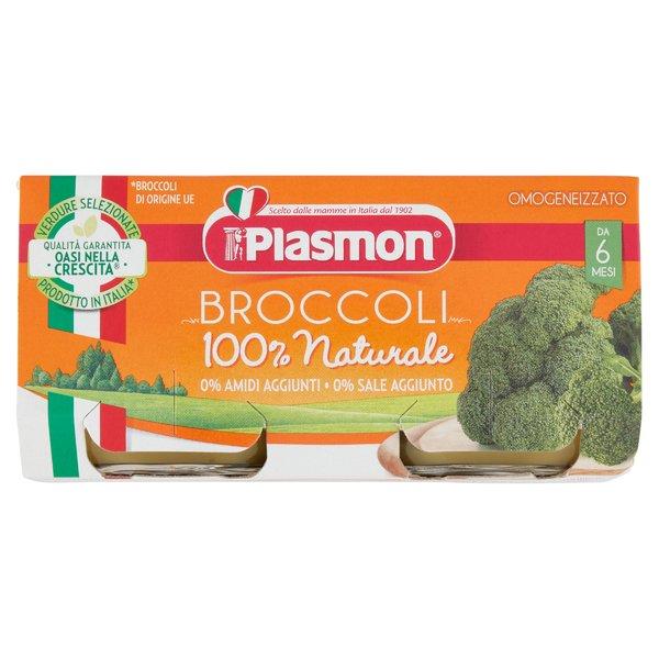 Plasmon Omogeneizzato Broccoli 2 x 80 g