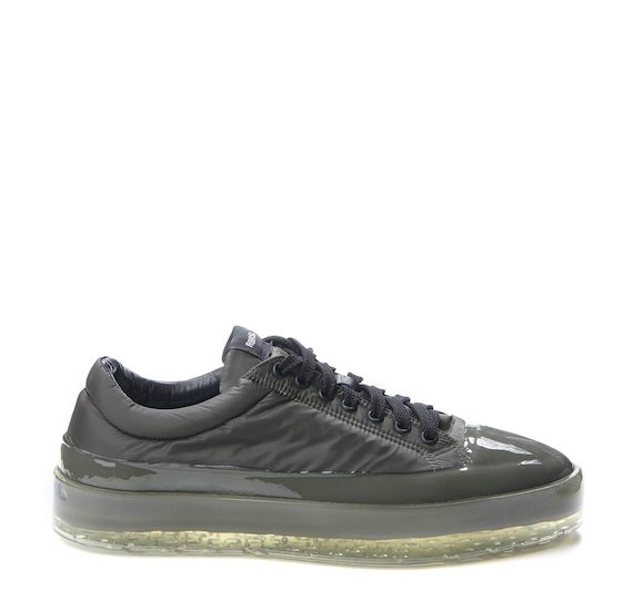 Army green nylon Sinker shoe