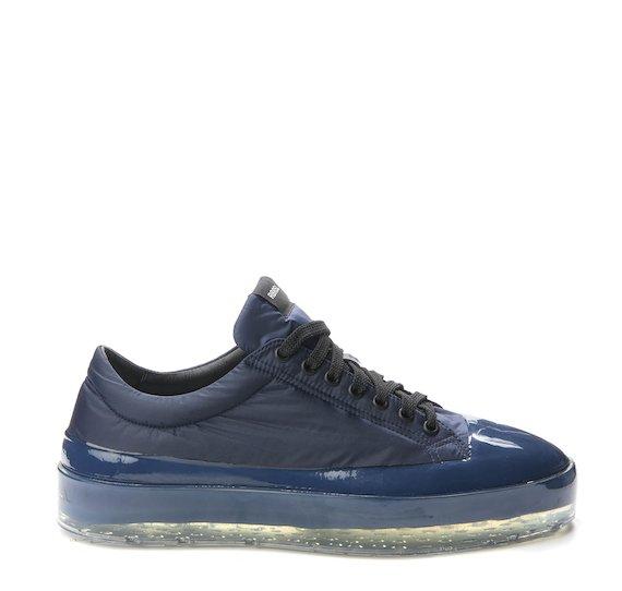 Blue nylon Sinker shoe