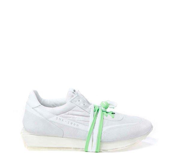 SNK-100M women's white shoe
