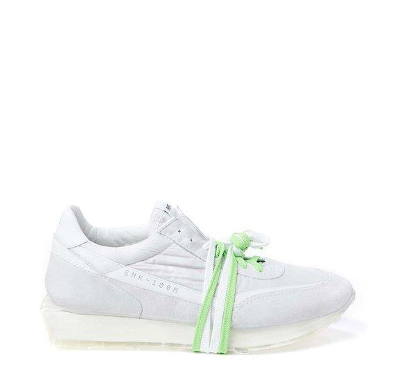 SNK-100M men's white shoe