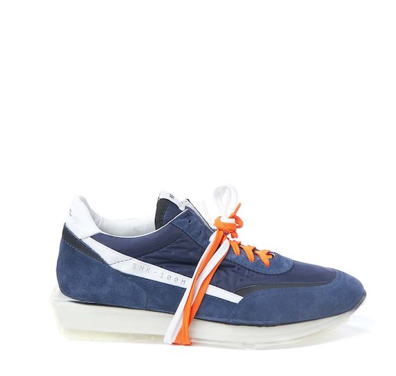 SNK-100M men's blue shoe