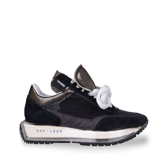 SNK-100M black plexi collection trainers