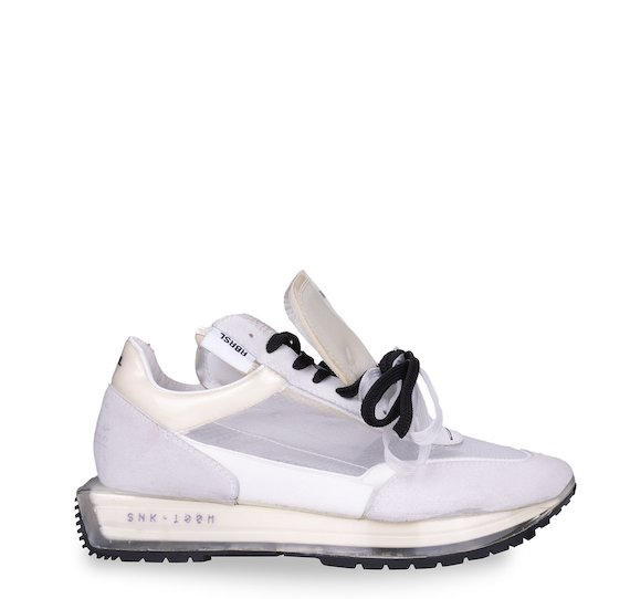 SNK-100M white plexi collection trainers