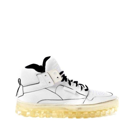 Women's Bold white shoes