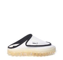 Women's BOLD slippers in breathable white technical fabric