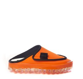 Women's BOLD slippers in breathable orange technical fabric