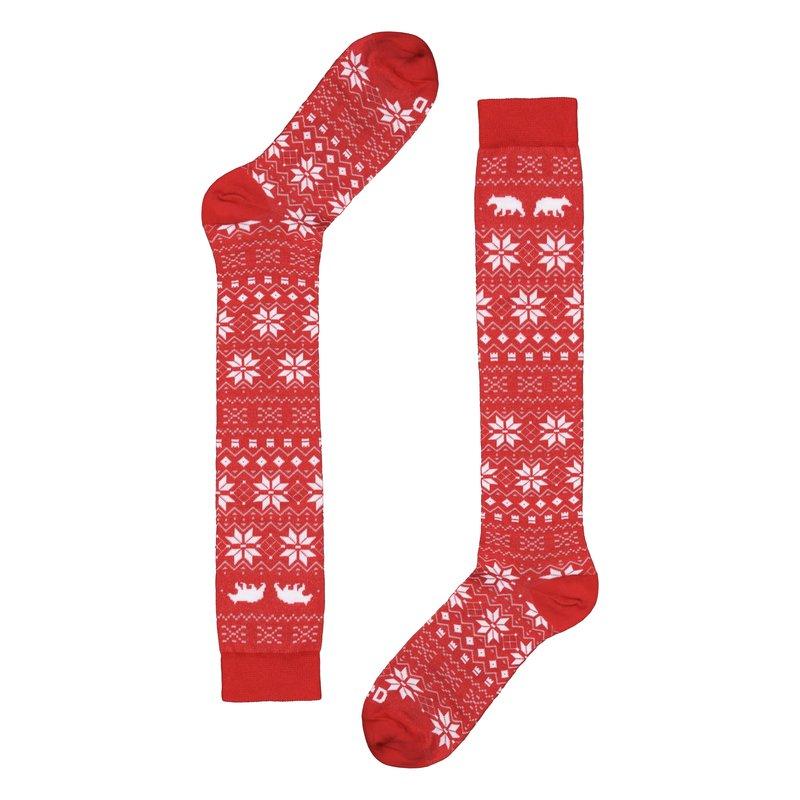 Calza disegno natalizio con Orso