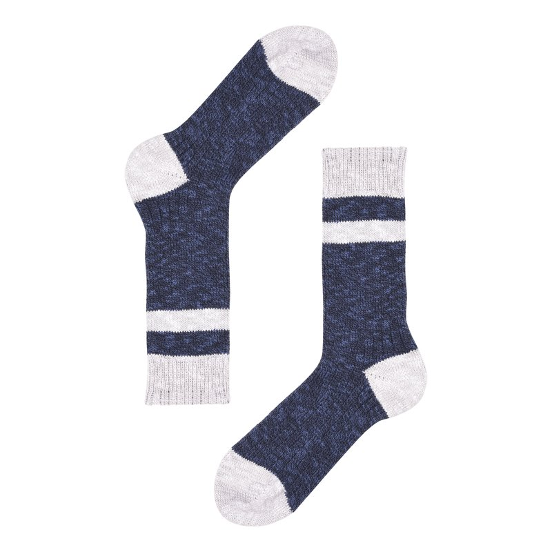 Country style women cotton socks