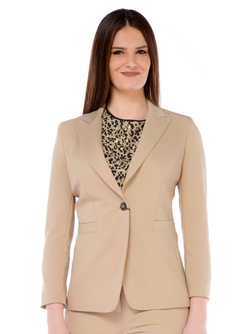 GIACCA DONNA - Beige
