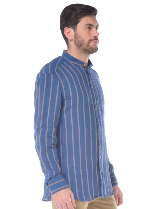 CAMICIA FASHION E SPORTIVA UOMO - Marron