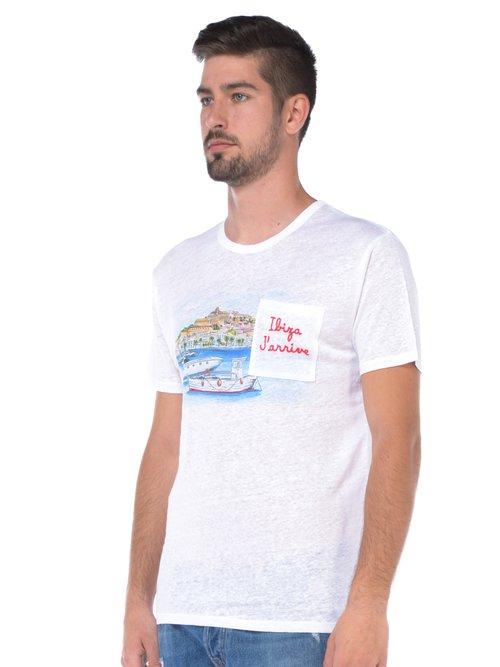 T SHIRT MANICA CORTA UOMO - Bianco