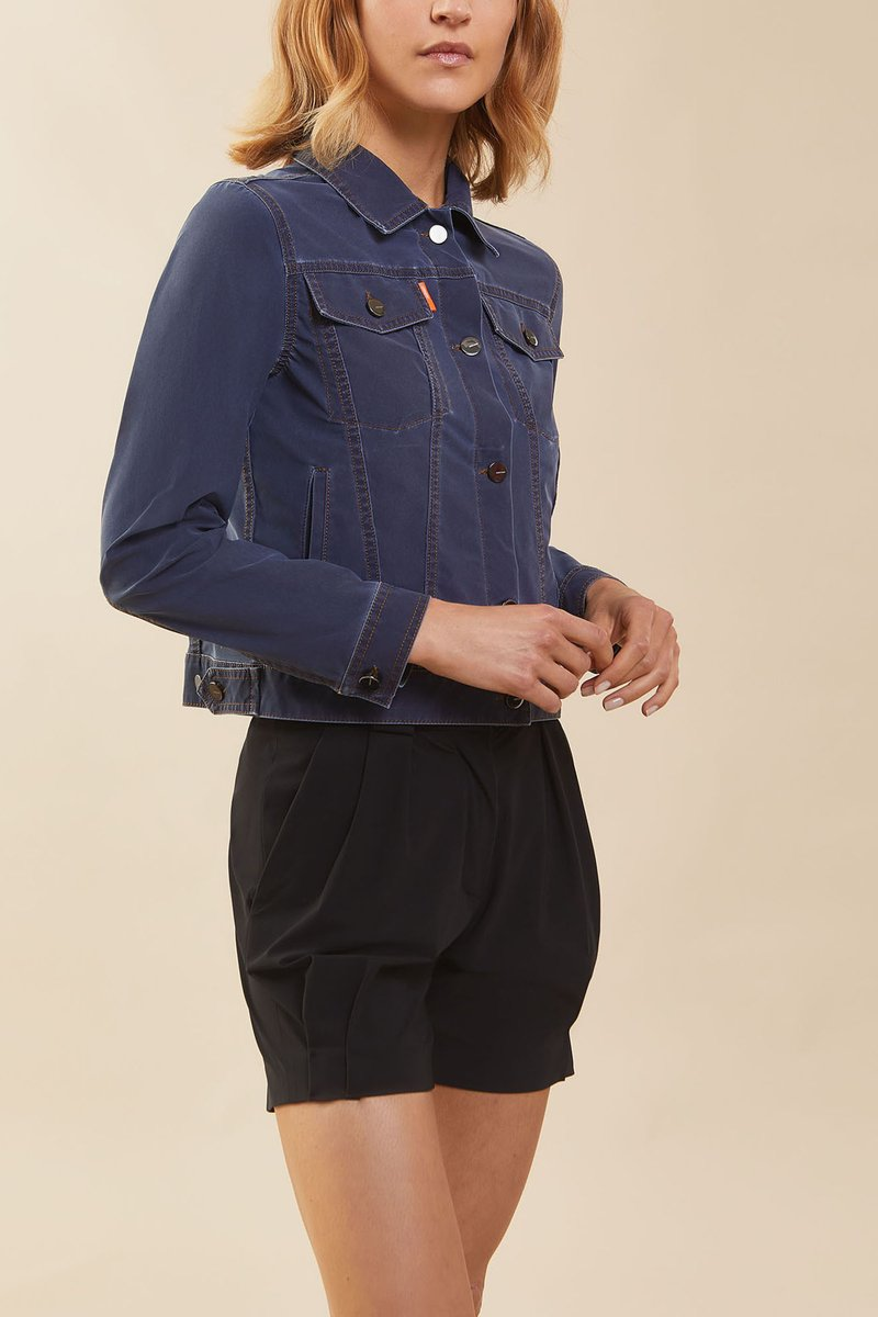 TECHNO INDACO JKT FADED LADY