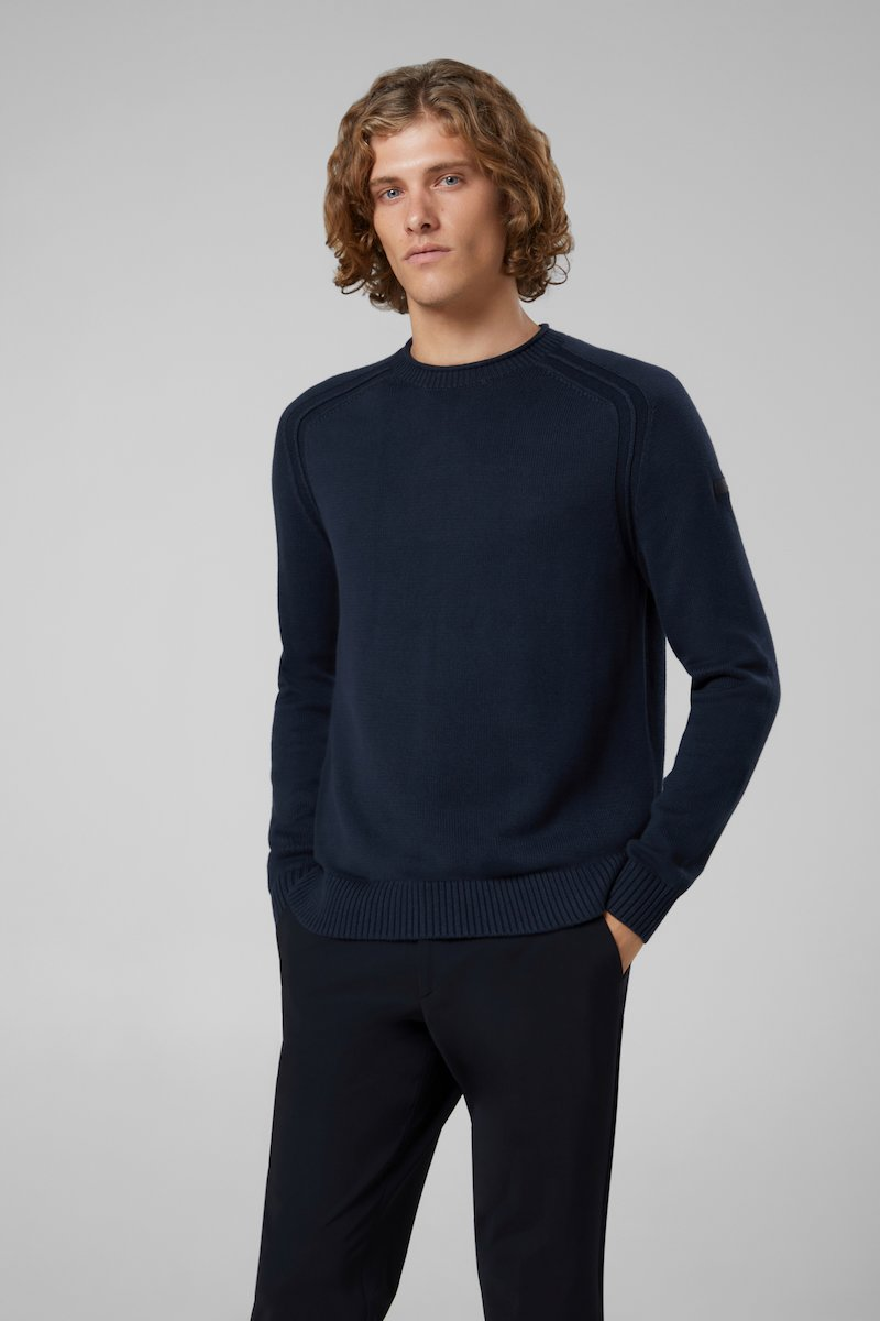 KNIT COTTON PLAIN ROUND