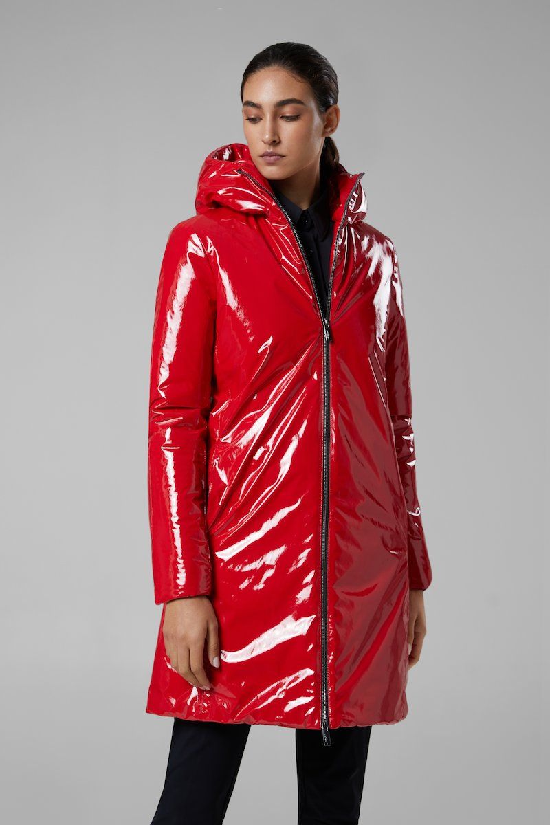 NEW VARNISH OVERPARKA LADY