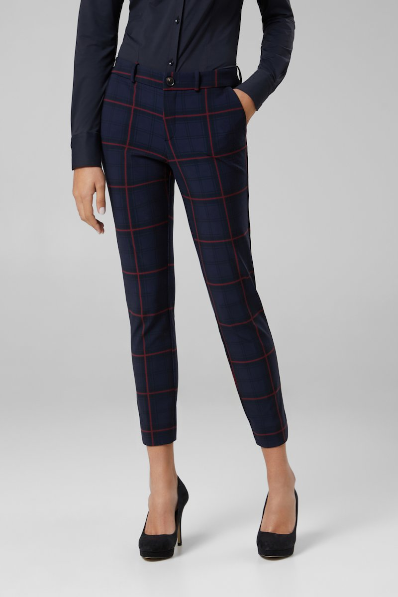 WINTER CHECK PANT LADY