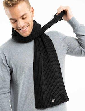 Sciarpa Gant in lana a coste