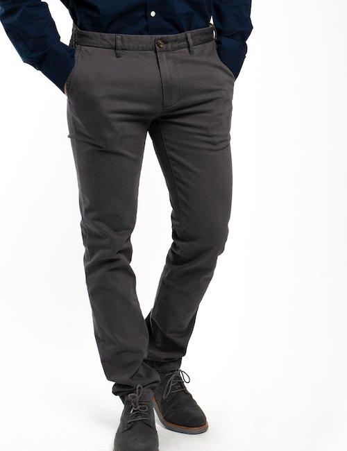 Pantalone Gant chino - Grey_White