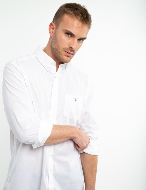 Camicia Gant in cotone - White