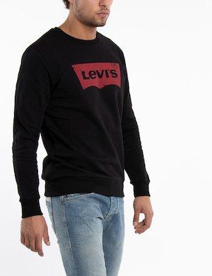 Felpa Levi's girocollo con logo