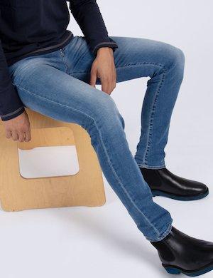 Jeans skinny urban Cod. art. 71865 SAX ZIP f