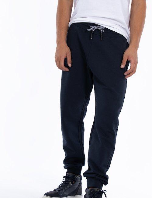 Pantalone Gas felpa - Blue_Yellow