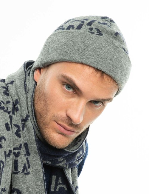 Cappello Armani Jeans bicolor - Bicolor Grigio