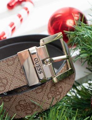 Cintura Guess doubleface con logo