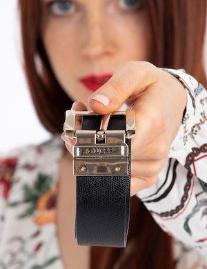 Cintura doubleface con logo