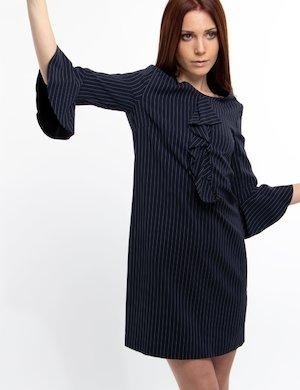 Vestito corto gessato Liu Jo