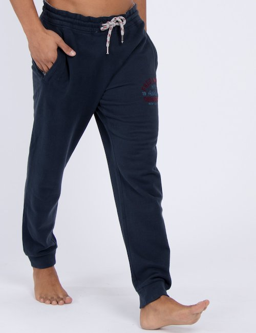 Pantalone Fred Mello sportivo - Navy_Beige