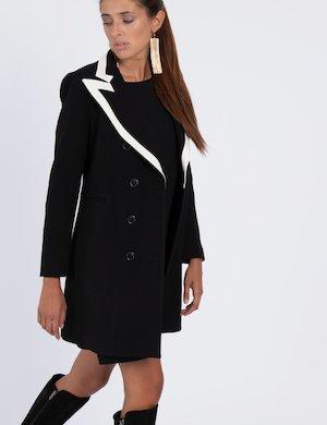 Cappotto con profili a contrasto Cod. art GINEVRA SUPERDUKE f