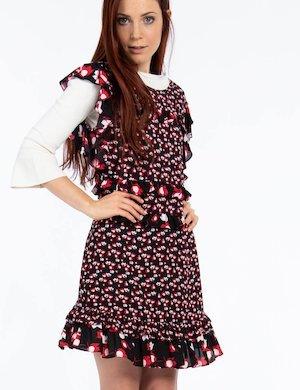 Vestito  Pepe Jeans corto fantasia a fiori