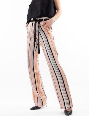 Pantalone Liu Jo palazzo a righe